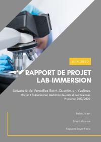 Affiche lab immersion